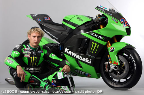 Kawasaki Zxr Monster Energy Edition