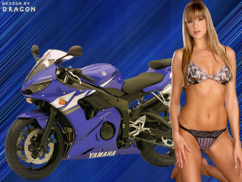 hot motorcycle chickclass=hotbabes